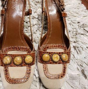 Franco Shoes Size 8 M